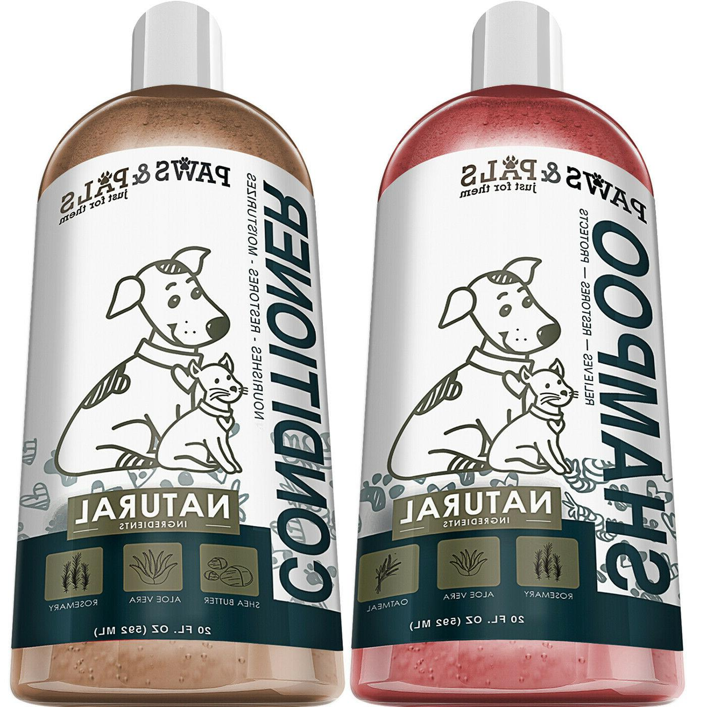 dog shampoo and conditioner for pet cat