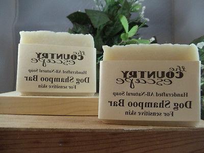 dog shampoo bar for sensitive skin w