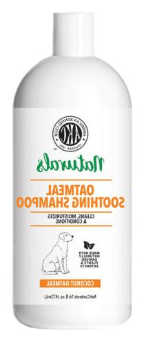dog shampoo coconut oatmeal 16 ounce
