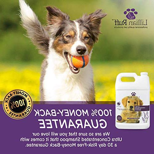Lillian Dog Shampoo – Shampoo – Tear Lavender Scent Soothe & Cleanse Normal to Itchy Skin Improving Made in USA