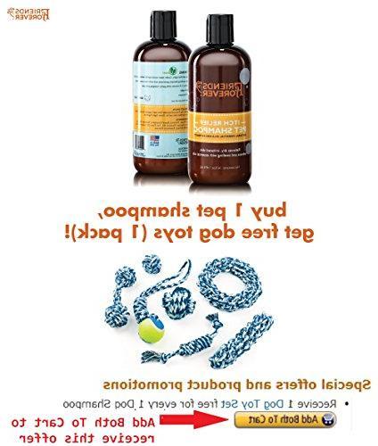Friends Shampoo Skin - Oatmeal Aloe Vera Pet Tea Oil