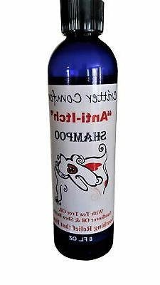 Dog Shampoo for Dry, Itchy & Sensitive Skin| Allergy Relief