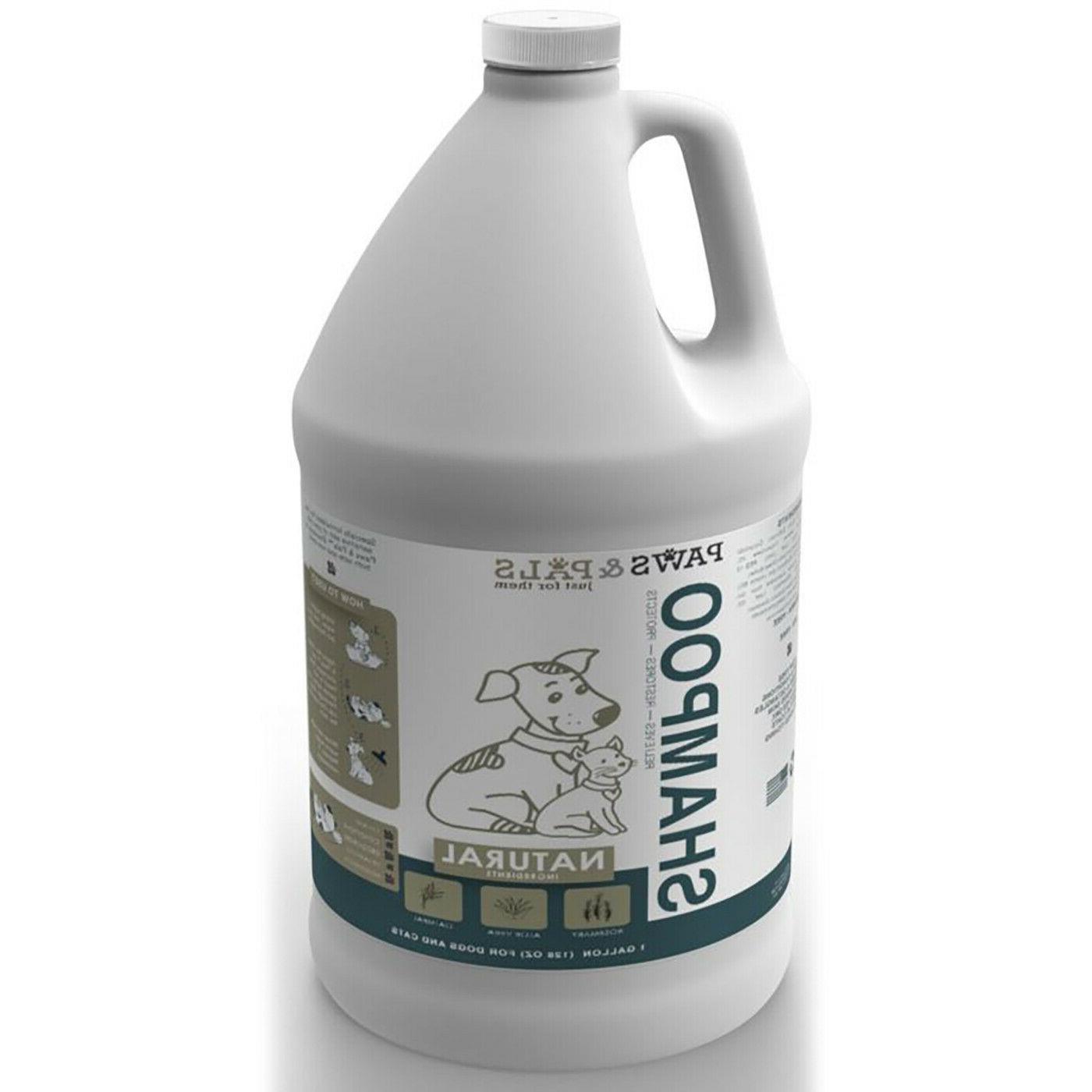 Dog Shampoo Dry Itchy Sensitive - Natural Shampoo Gallon