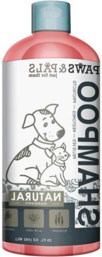 Dog Shampoo For Dry Itchy Skin - Smelly Dogs Cats Oatmeal an