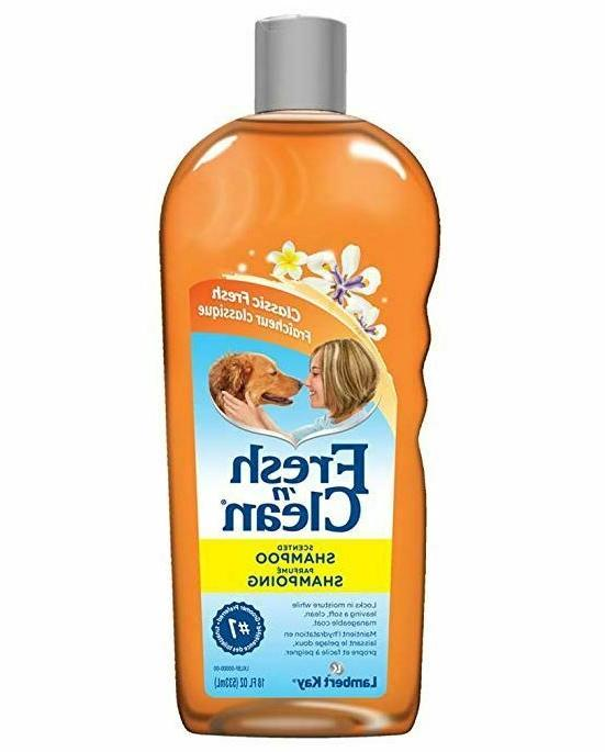 Dog Shampoo Lambert Kay Fresh'n Clean Scented Tearless For T