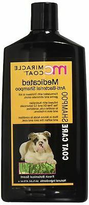 Miracle Coat Dog Shampoo Medicated, Anti-Bacterial Shampoo 1