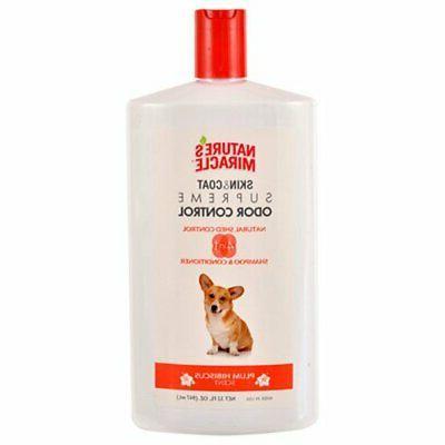 dog shampoo nature s miracle supreme odor