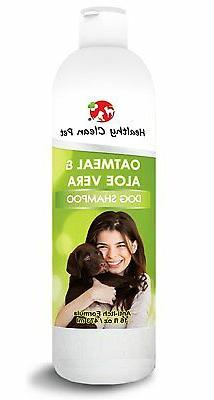 DOG SHAMPOO - Oatmeal and Aloe - for Dogs and Cats
