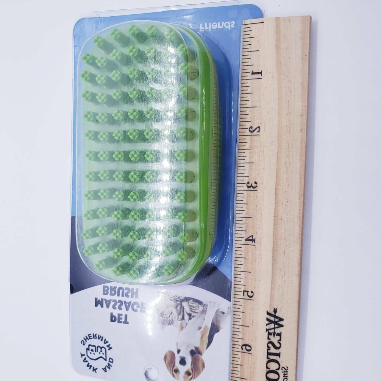 Tank And Shampoo Rubber Easy Clean Bath Brush