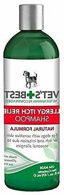 Dog Supplies Vets Best Allergy Itech Relief Shampoo 16Oz
