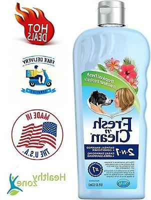 Dog Shampoo & Conditioner Soothing Oatmeal Tropical Fresh Sc