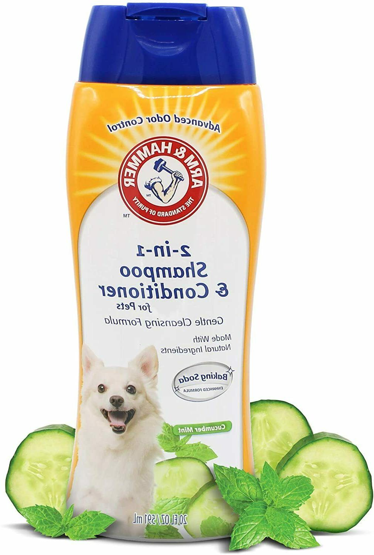 Dogs 2-In-1 Shampoo Conditioner Dog Eliminate Advanced Odor