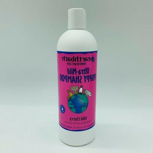Earth Bath Cherry Scented Puppy Shampoo 16oz