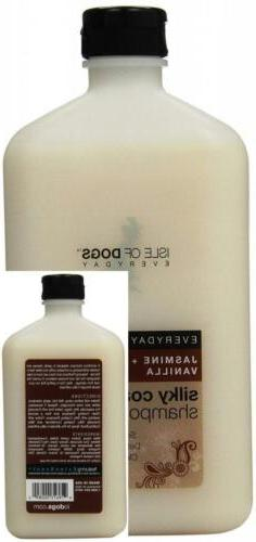 everyday jasmine and vanilla silky coating shampoo