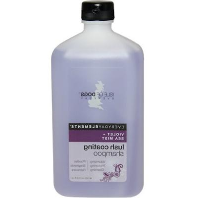 Everyday Isle of Dogs Lush Coating Dog Shampoo, Violet + Sea