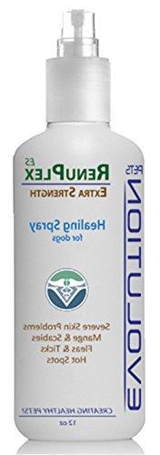 RenuPlex EXTRA Strength Dog Healing Spray for Dog Hot Spots,