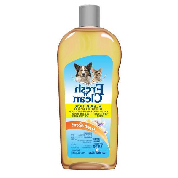 flea and tick conditioning shampoo professional dog