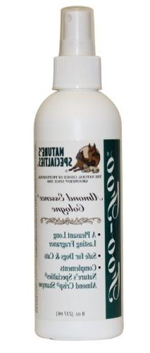 Nature's Specialties Foo Almond Essence Pet Cologne, 8-Ounce