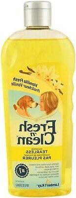 Fresh n Clean Tearless Puppy Shampoo for Dogs gently cleans