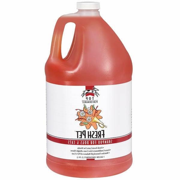 fresh pet shampoo concentrate gallon dog