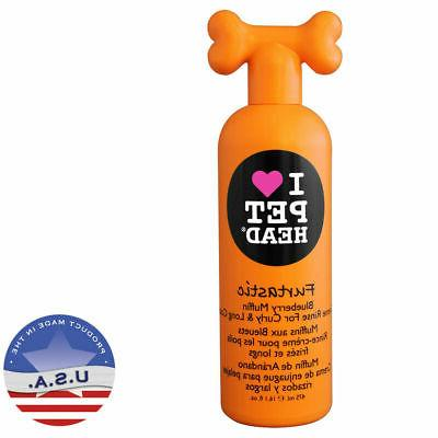 Pet Head Furtastic Crème Rinse for Curly and Long Coat Blue