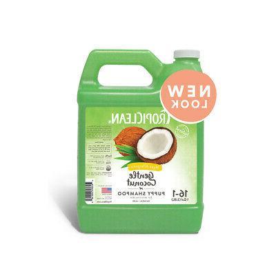 TropiClean Gentle Coconut Hypoallergenic Puppy Shampoo, 1 Ga
