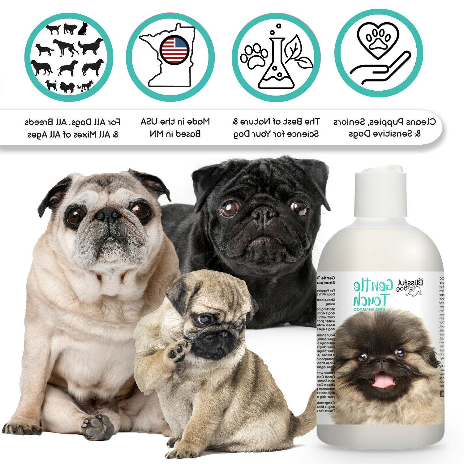 gentle touch dog shampoo for your puppy