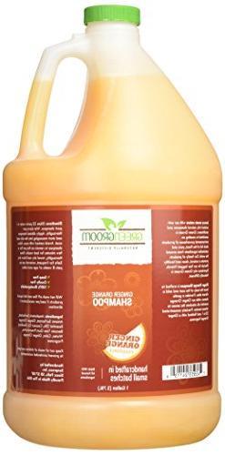 Green Groom Ginger Orange Aromatherapy Shampoo, 1 gallon
