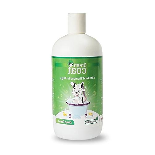 green coat deep clean shampoo