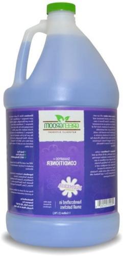 Green Groom Dog Shampoo Plus Conditioner, 1 Gallon | All Nat