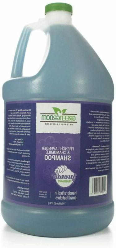 Green Groom Lavender Chamomile Aromatherapy Shampoo,
