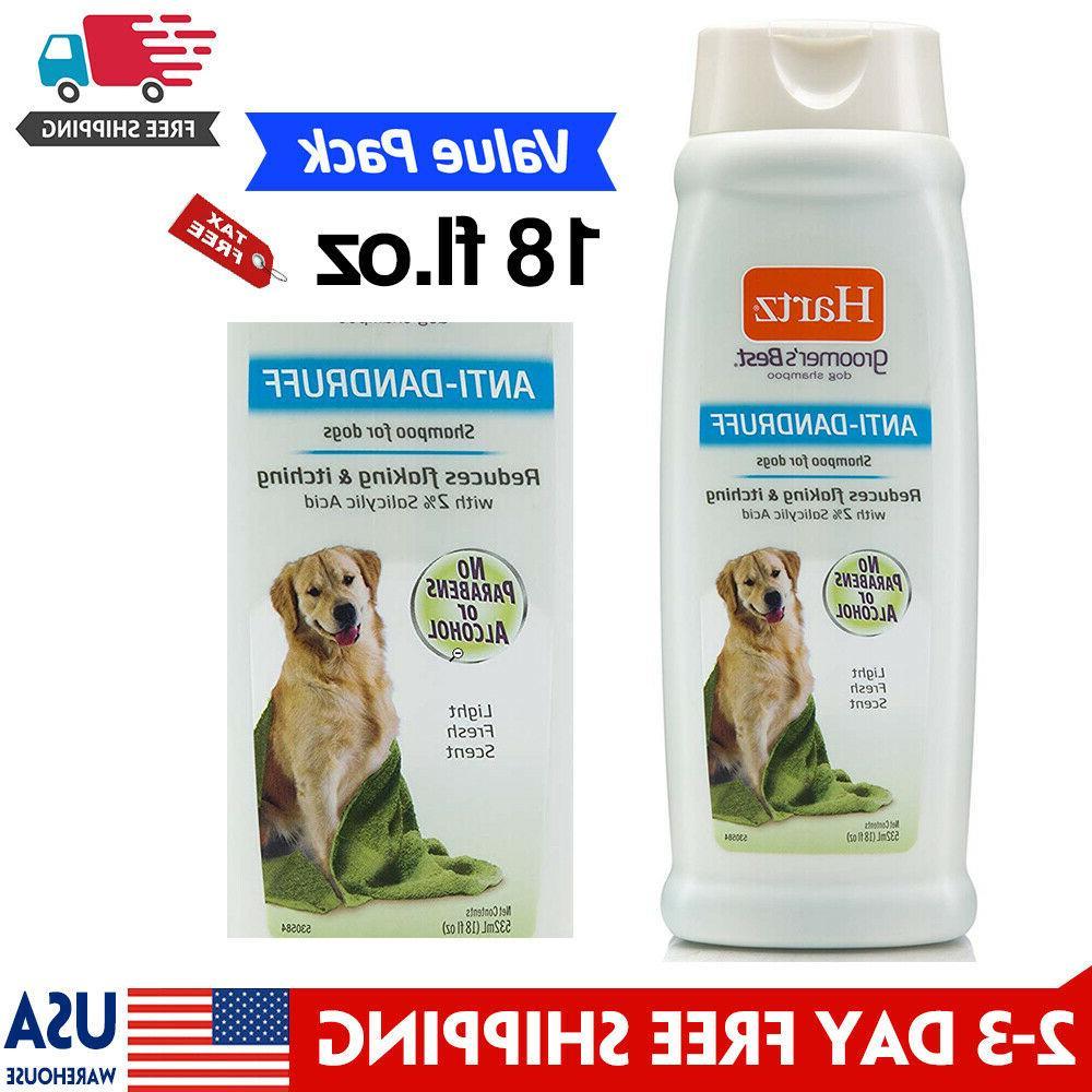 Hartz Groomer's Best Anti-Dandruff Dog Shampoo Reduce Flakin