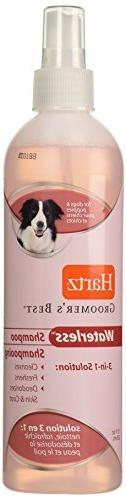 Hartz Groomers Best Waterless Shampoo for Dogs, 3 in 1 Solut