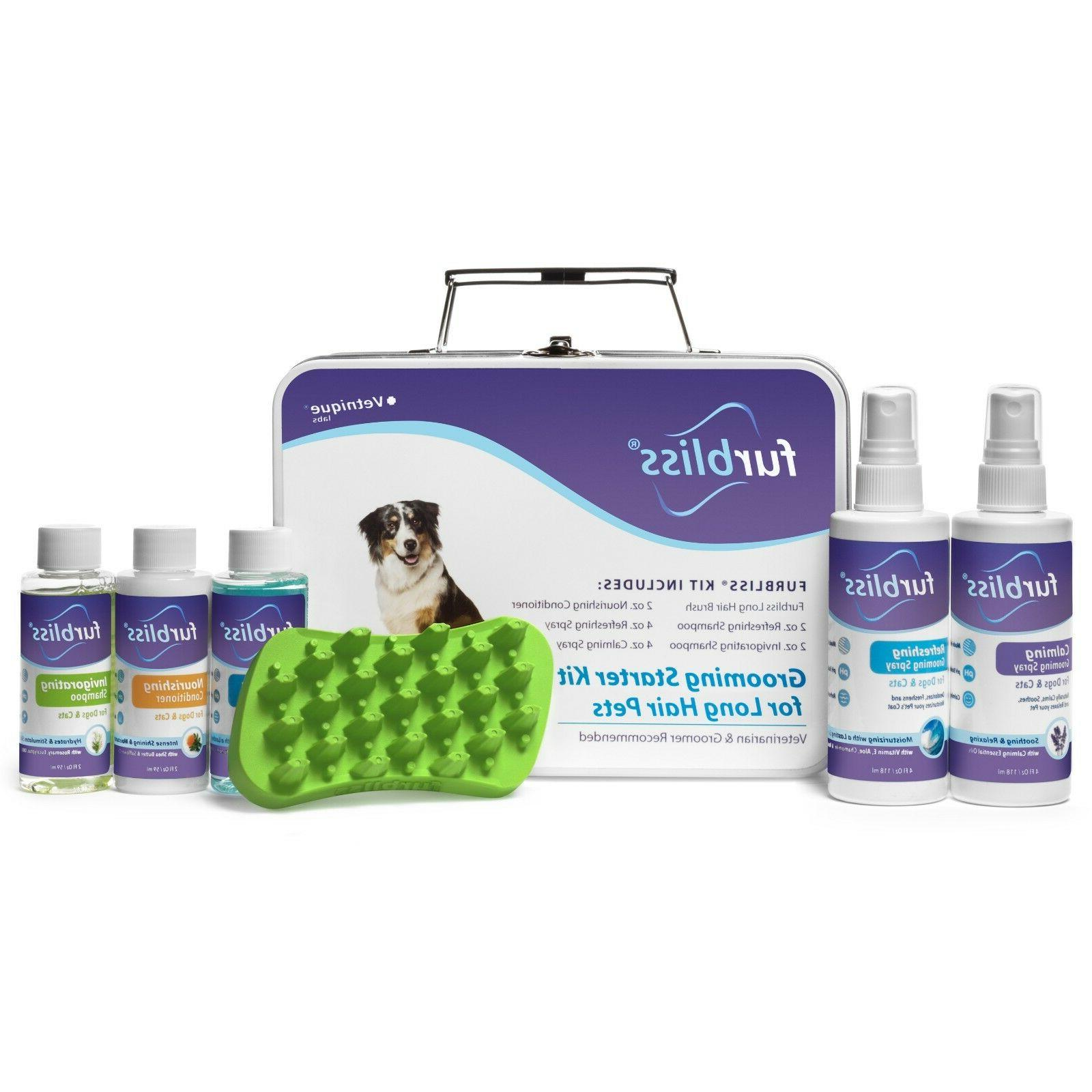 grooming kit for dogs and cats shampoo