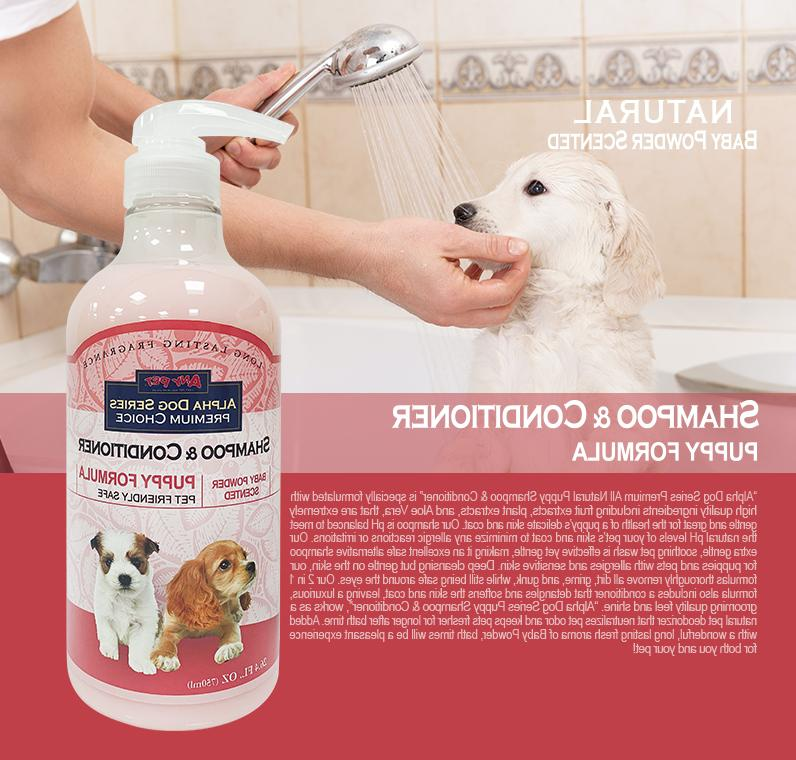 Grooming Shampoo + Conditioner for Dogs