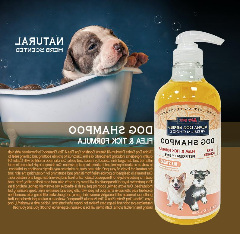 Alpha Dog Grooming Quality All Natural Shampoo + Conditioner Dogs