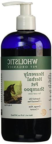 Wholistic Pet Organics Heavenly Herbal Pet Shampoo, 16 fl oz