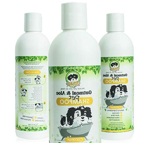 hypoallergenic oatmeal dog shampoo itchy