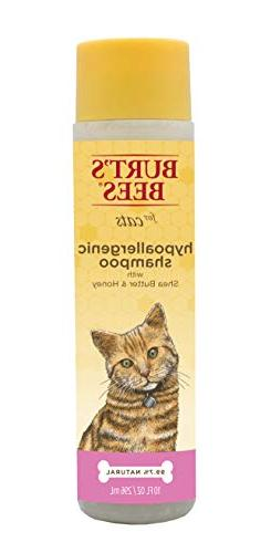 Burt's Bees for Cats Hypoallergenic Shampoo with Shea Butter