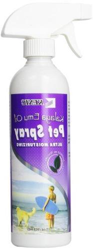 Kenic Kalaya Emu Oil Pet Spray, 17-Ounce