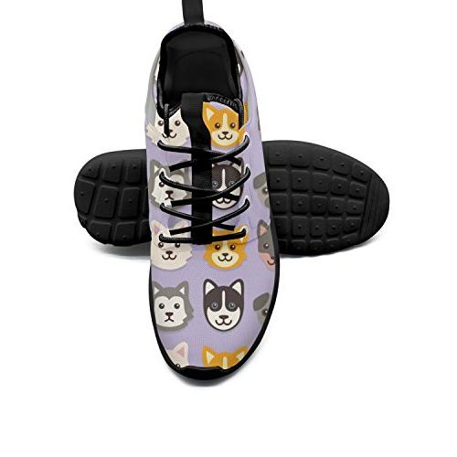 kinds dogs basketball sneakers lightweight
