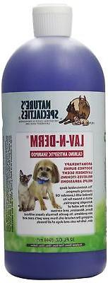 Nature's Specialties Lav-N-Derm Shampoo for Pets, 32-Ounce