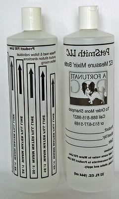 32oz Measure Mixing Bottle for Concentrated Dog Shampoo