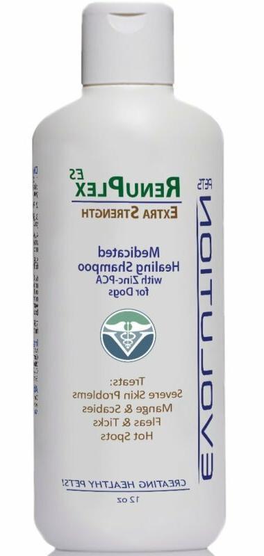 Medicated Mange Shampoo. Antifungal Mange