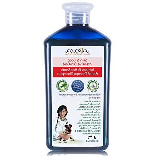 medicated dog shampoo antibacterial antifungal