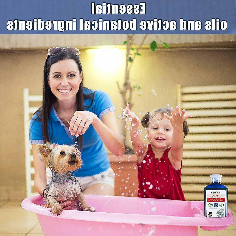 Medicated Dog Shampoo Natural