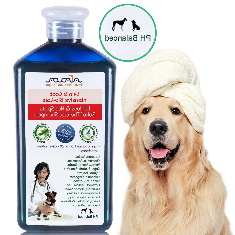 medicated dog shampoo natural organic antibacterial antifung