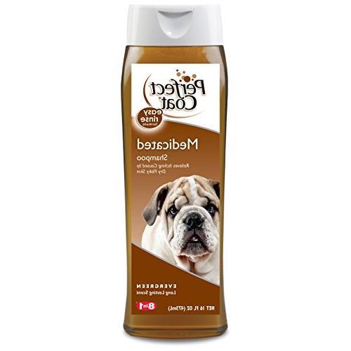 medicated dog shampoo