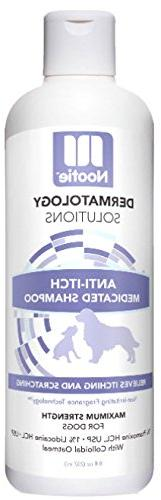 medicated oatmeal dog shampoo anti