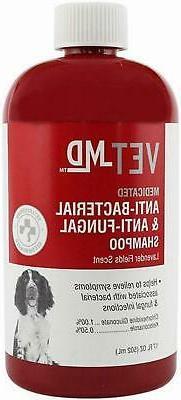 Medicated Pet Shampoo, Anti-Bacterial Anti-Fungal Anti-Infec